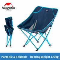 Naturehike-Silla de playa portátil para acampar, plegable, ligera, para pesca, acampada al aire libre, asientos para Picnic