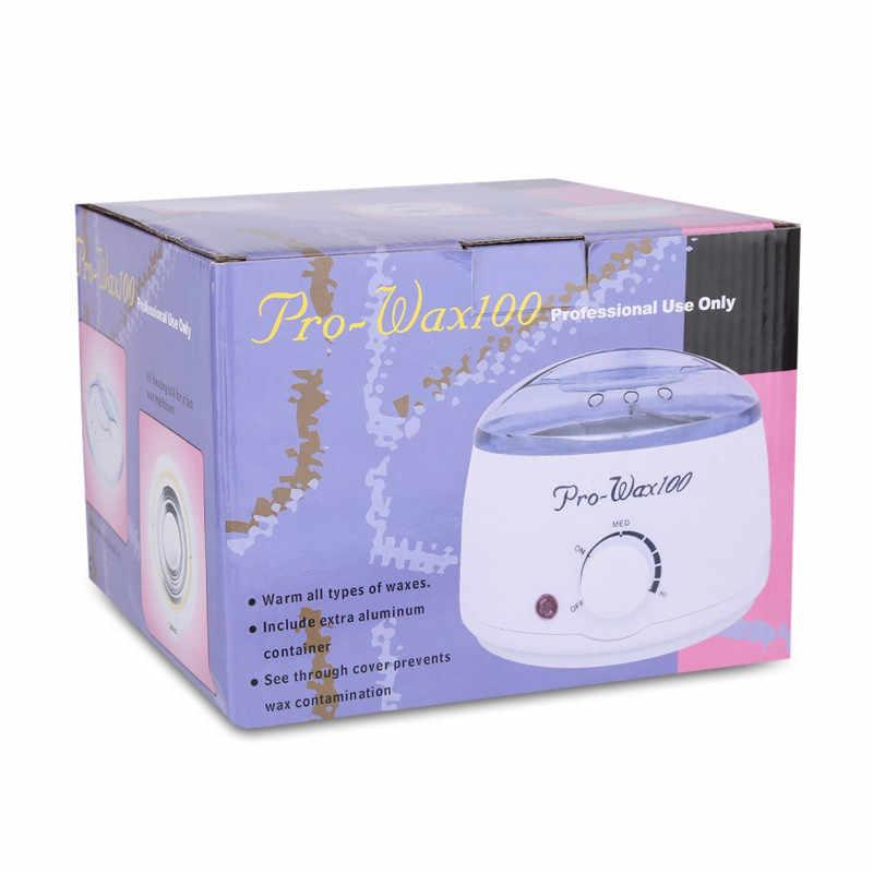 Profissional senhora depilatório depilatório corpo recarregável mini remoção do cabelo de alta qualidade cera máquina calor spa mão depilador 45d