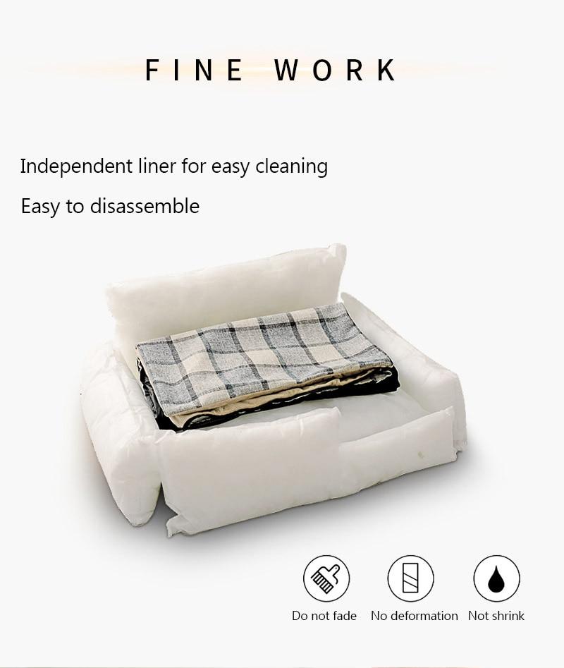 1Pc Quality Detachable Pet Bed