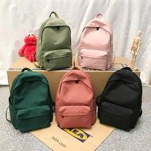 HOCODO Rucksack Für Frauen Einfarbig Schule Tasche Für Teenager Mädchen Schulter Reisetasche Multi Tasche Nylon Zurück packen Mochila 2019