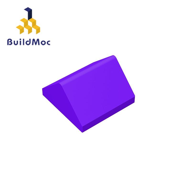 BuildMOC 3043, склон 45, 2x2, двойной для строительных блоков, детали «сделай сам», развивающие технические детали, игрушки