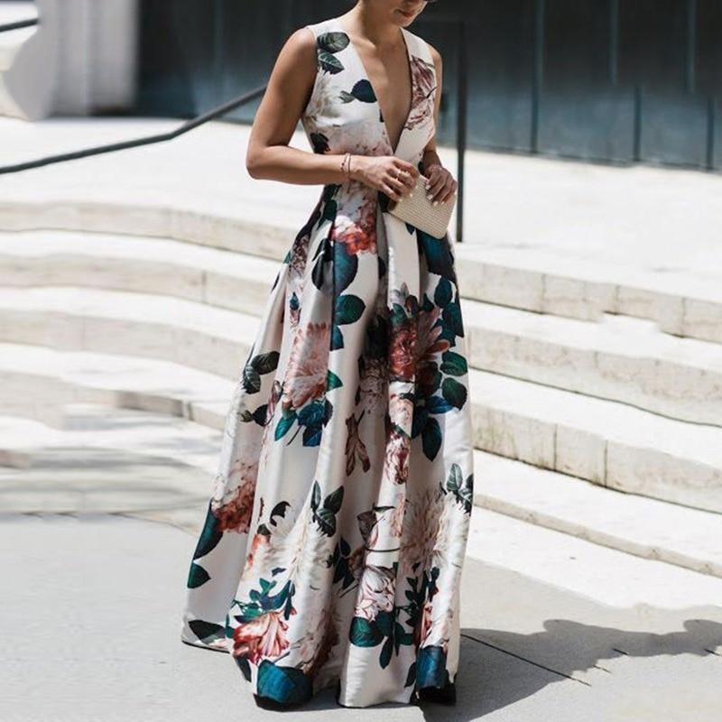 Ankle-Length long dress