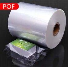 POF – film transparent thermorétractable, feuilles à Membrane, sac d'emballage pour cosmétiques, matériau thermorétractable