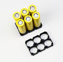 MasterFire 400pcs/lot 2*3 21700 Battery Holder Bracket Cell Safety Anti Vibration Plastic Brackets For Lithium Batteries