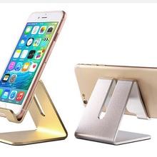 Благородный алюминиевый настольный держатель для телефона, подставка для планшета, подставка для смартфона, планшета, запасное отверстие для зарядки, Hands Free@ 15