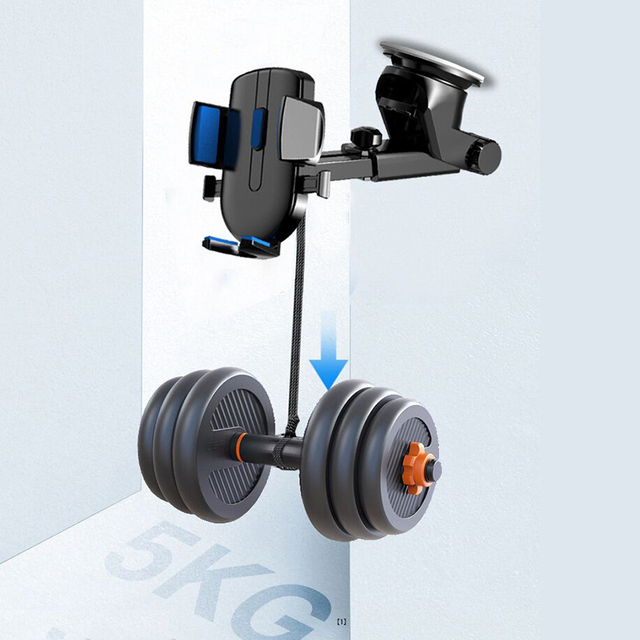 LISM Sucker Car Phone Holder Mobile Phone Holder Stand in Car No Magnetic GPS Mount Support For iPhone 12 11 Pro Xiaomi HUAWEI 6