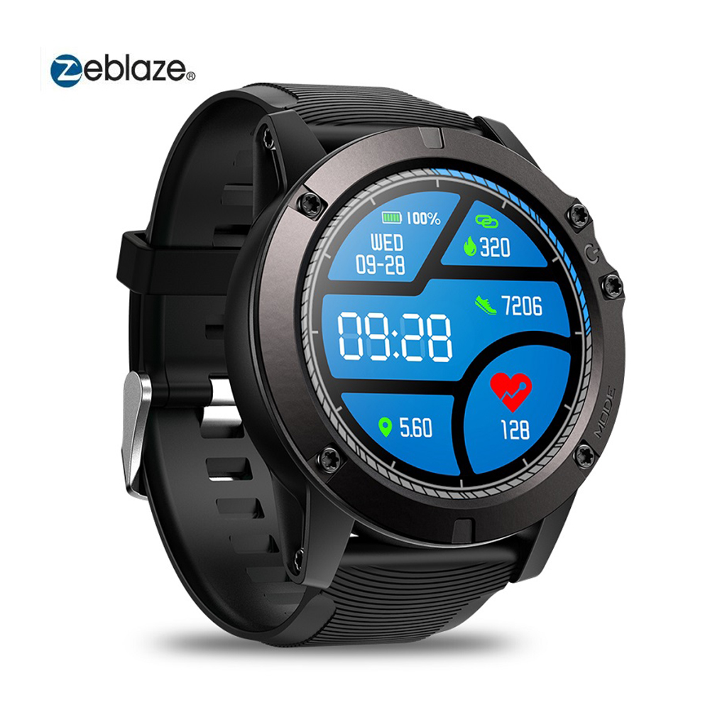 Smart Watch Zeblaze VIBE 3 PRO Bluetooth 4.0 Sports Smartwatch Monitor Proximity Sensor Accelerometer Heart Rate For IOS Android image