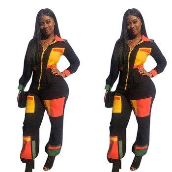 אפריקאי נשים בגדי יוקרה 2 חתיכה סט בתוספת גודל נשים אימונית סט סקסי ריצה חליפות streetwear טרקלין ללבוש אופנה