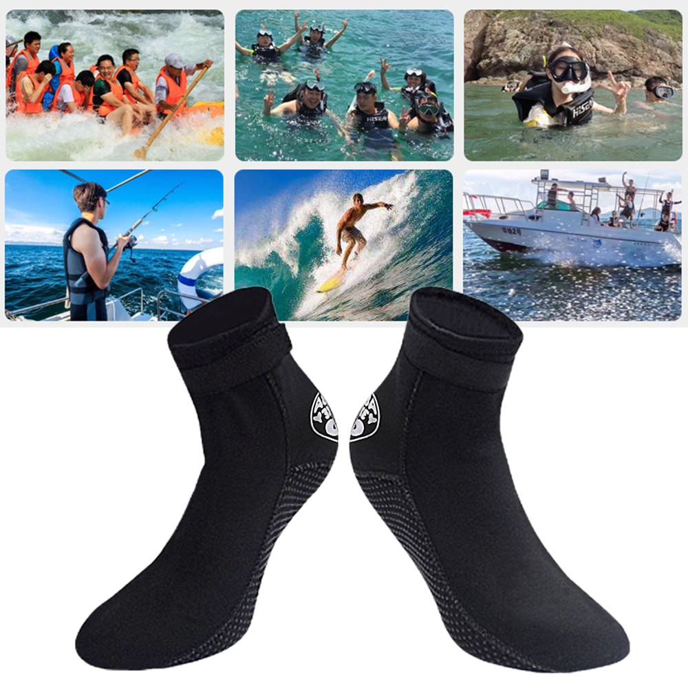 Wetsuit Fin Socks Quick Dry Anti-Slip Water Skin Shoes Water Sports Boots Swimming Snorkeling Surfing Diving Socks
