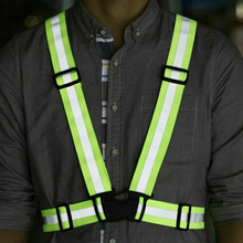 Safety Vest Adjustable Cycling Safety Security High Visibility Reflecti