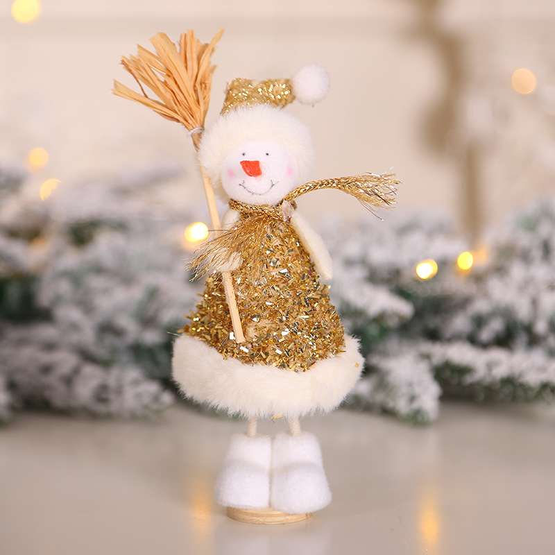 2020 New Year Gift Cute Christmas Angel Doll Xmas Tree Ornament Noel Deco Christmas Decoration for Home Natal Navidad 2019 Decor 41