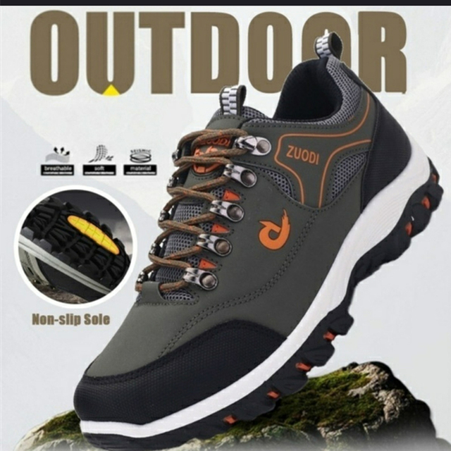 2021 New Brand Fashion Outdoors Sneakers Waterproof Men's shoes Men Combat Desert Casual Shoes Zapatos Hombre Big Size 39-48 1