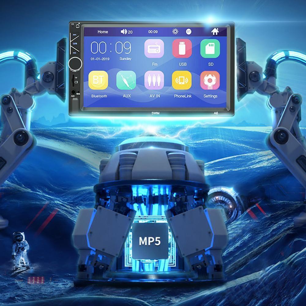 Voiture multimédia MP5 lecteur Audio stéréo SWM-A6 autoradio 7