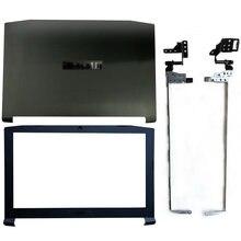 Novo para acer nitro 5 AN515-42 AN515-41 AN515-51 AN515-53 portátil lcd capa traseira/lcd moldura dianteira/dobradiças fa211000000 capa