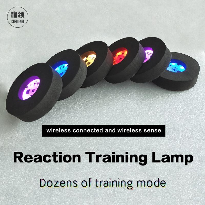【queling】reaction Training Light Lamp Speed Agility Equipment Basketball Boxing Fitlight Blazepod Siboasi