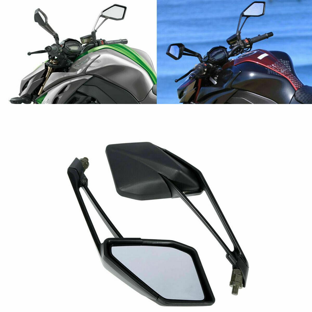Мотоциклетные зеркала заднего вида для Kawasaki Z1000 Z 1000 2014-2016 2015 Black L & R