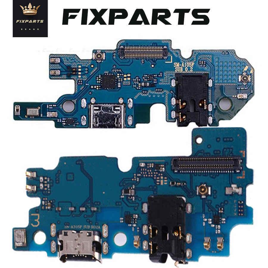 Kualitas Baik Dok Pengisian Usb Port Konektor Papan FLEX Kabel untuk Samsung A10 A20 A30 A40 A50 A60 A70 M10 m20 M30 M40 A750 A720