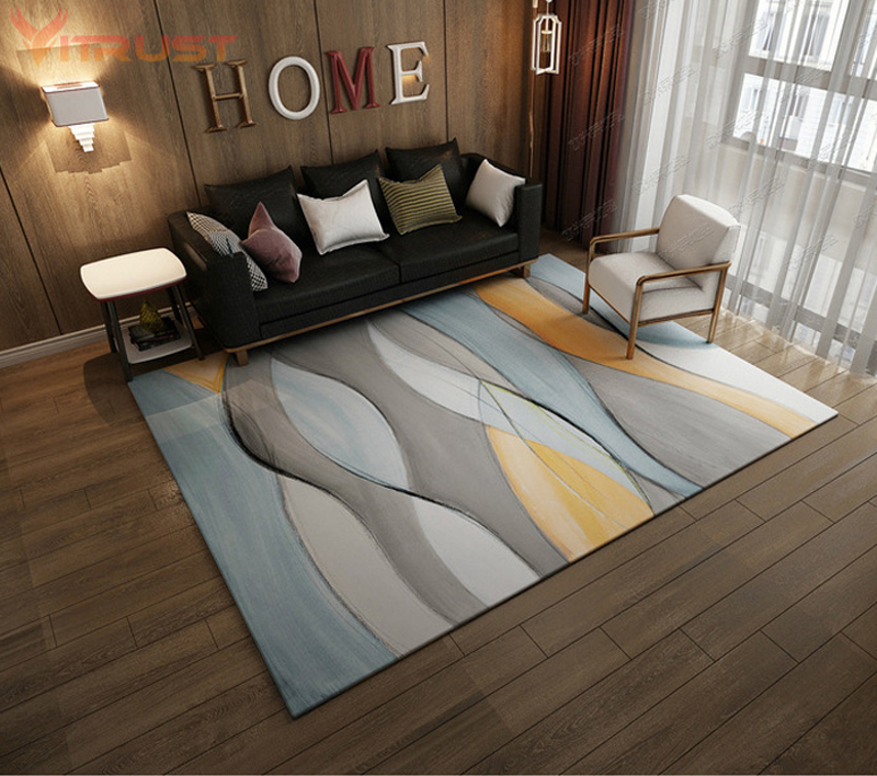 Classic Geometric Carpets For Living Room Coffee Table Area Rug Kids Play Mat Soft Bedroom Carpet Sofa Coffee Table Rug