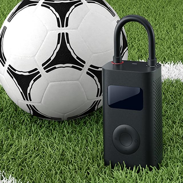 Xiaomi Mijia Smart Electric Inflator Pump Digital Tire Pressure Detection Built-in Battery Portable for Bike Car Football 5