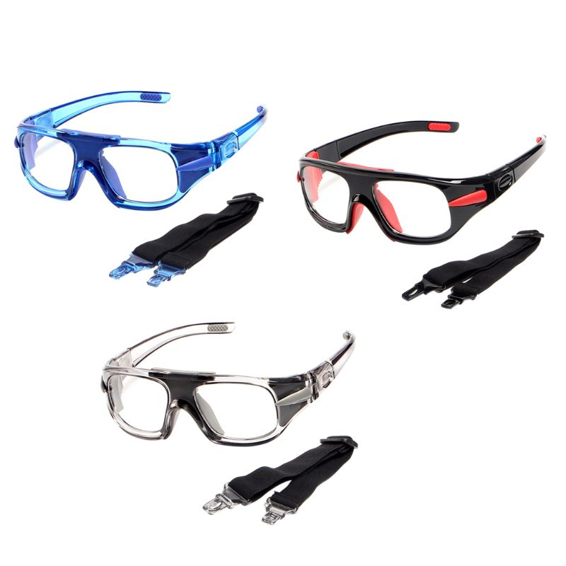 Sports Glasses Basketball Football Protective Eye Safety Goggles Optical Frame Removable Mirror Legs Myopia