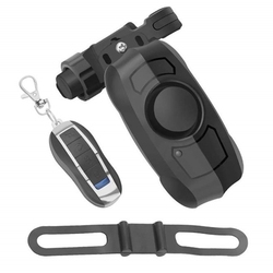 ABZB Usb akumulator bezprzewodowy Anti Theft drgań motocykl motor rower blokada bezpieczeństwa Alarm z pilot zdalnego sterowania w Trenażery i rolki od Sport i rozrywka na