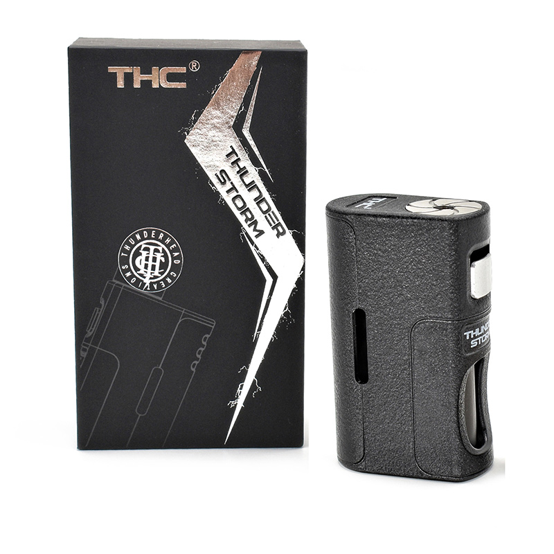 100% Origina THC Thunder Storm BF Box Mod Bottom Feeder Squonk Mechanical Mod 18650 20700 21700 Battery Vape Fit THC Tauren RDA