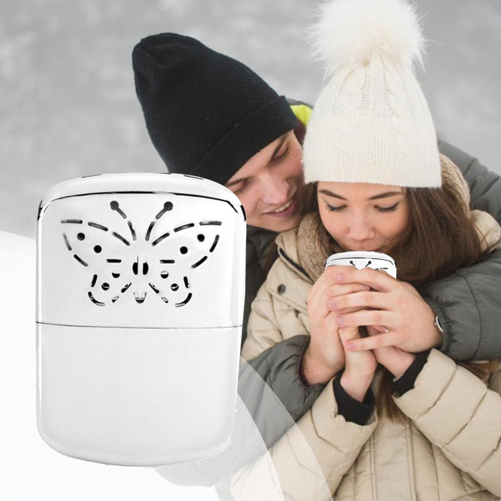 1Pc Mini Portable Pocket Hand Warmer Handy Warmer Heater & Special Catalyst For Heater