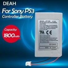 1 bloco da bateria do li-íon do lítio dos pces para a bateria recarregável sem fio ps3 do controlador ps3 playstation3 de sony 3.7v 1800mah