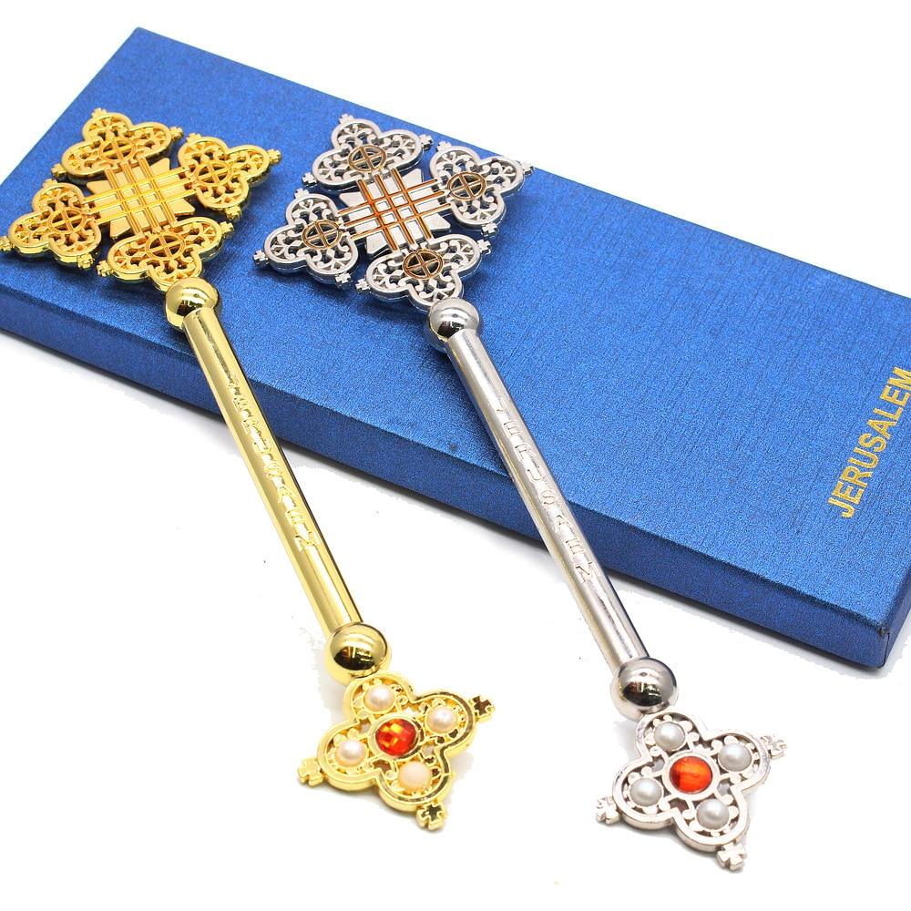 Мусульманский крест, украшения