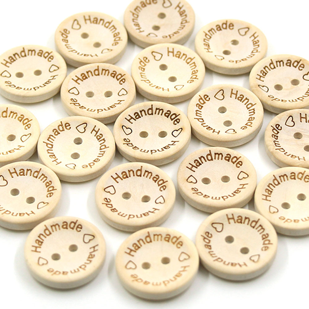 30pcs Coconut Buttons Plum Flower Decor Clothing Home Sewing Scrapbooking 9mm