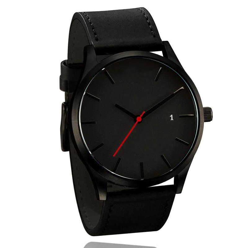 Top Luxus Marke Manner Uhren Manner Sport Quarz Uhr Mann Leder Armee Military Armbanduhren Relogio Masculino Erkek Kol Saati