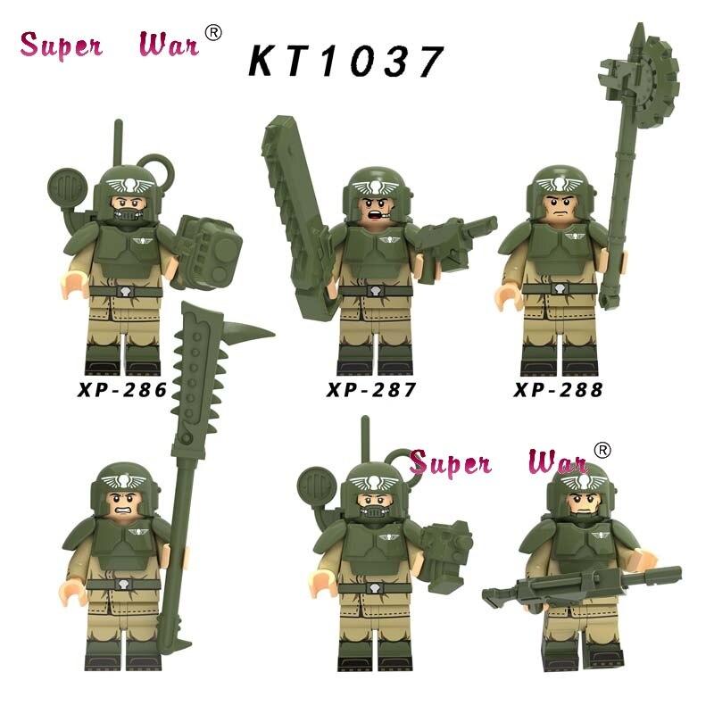 Single Star Wars Finn Lando Palpatine Baby Yoda Dark Rey Darth Vader Empire Commander Assault Building Blocks Model Bricks Toys