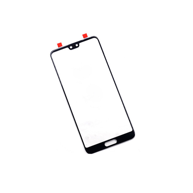 P20Pro Outer Screen For Huawei P20 / P20 Pro Front Touch Panel LCD Display Screen Out Glass Cover Lens Phone Repair Replace Part