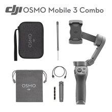 DJI Osmo Mobile 3 Combo 3-осевой Ручной Стабилизатор для смартфонов с интеллектуальными функциями, обеспечивающими стабильный