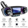 FM Transmitter Aux Modulator Bluetooth Car Kit Auto Audio MP3 Player mit Smart Ladung Dual USB Auto Ladegerät|Auto MP3-Player|   -