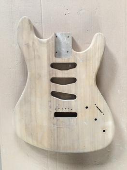 Afanti Music DIY korpus gitary elektrycznej (T237) tanie i dobre opinie not include Basswood or Mahogany or Ash Strona główna-schooling Profesjonalna wydajność Beginner Unisex none Electric guitar