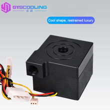 SYSCOOLING P70A Silent 12V Computer Water Cooler Water Cooling Heat Circulation Pump Manual Speed Computer Water Cooling Pump alloyseed dc 12v 18w sc1000 computer water cooling pump water cooler pump with speed controller maximum flow 1000l h