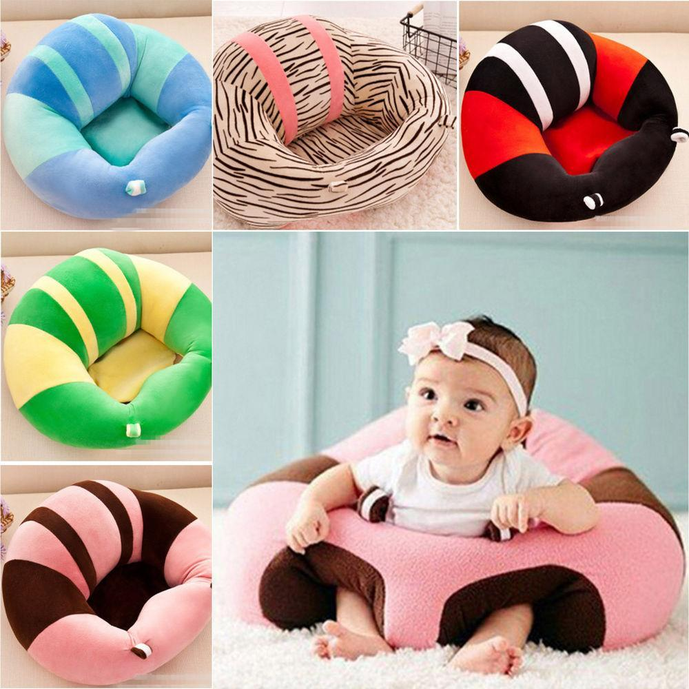 Infant Sitting Chair Pillow Protectors Baby Leg Back Support Seat Sofa BE