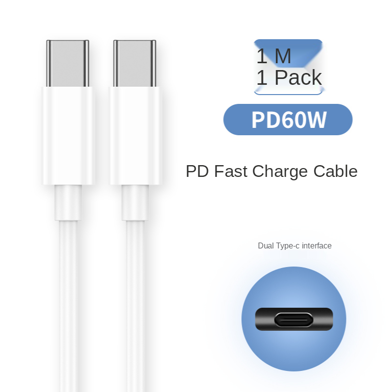 Быстрая зарядка 5A кабель с разъемом USB Type-C для iPhone Samsung S21 Xiaomi Huawei мобильный телефон 20 Вт PD быстрое зарядное устройство проводное зарядное устройство белый 2C