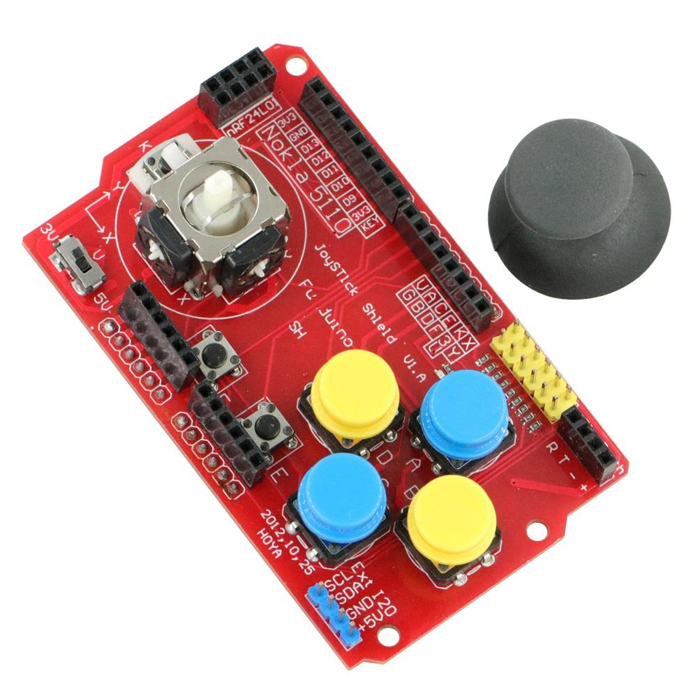 Joystick Keypad Shield Expansion Board Analog Keyboard and Mouse Function
