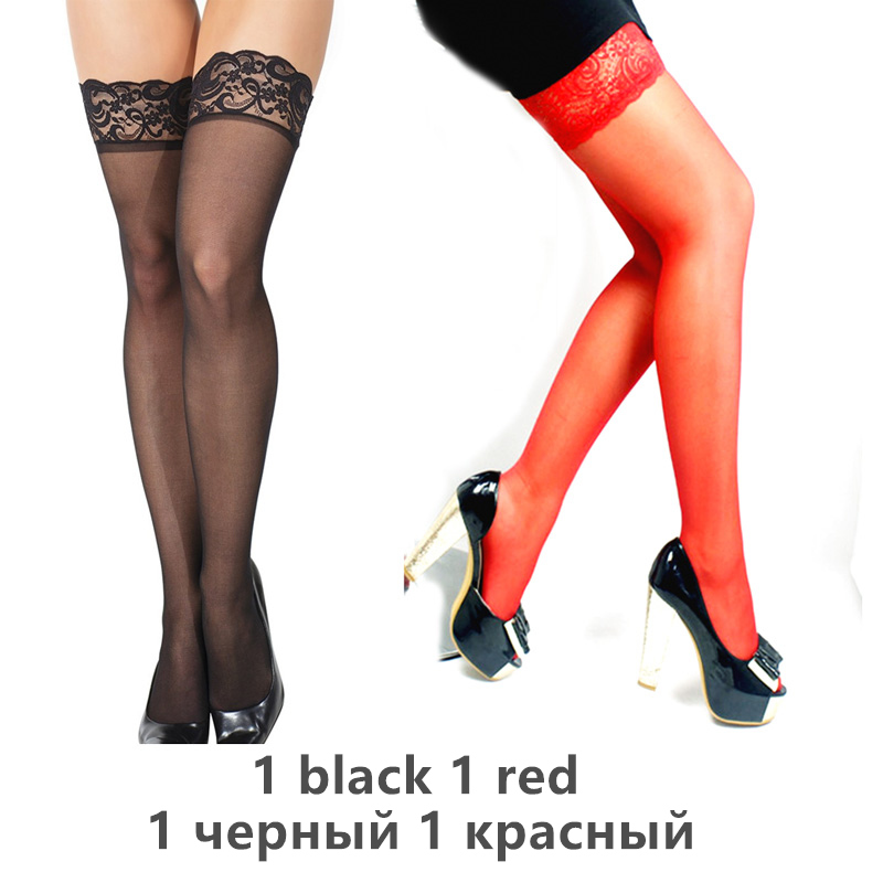 H3b086e2fe5d94c1f9f6c1519cca0c3edX - Thigh High Stocking Women Summer Over knee Socks Sexy girl Female Hosiery Nylon Lace Style Stay Up Stockings Plus Size