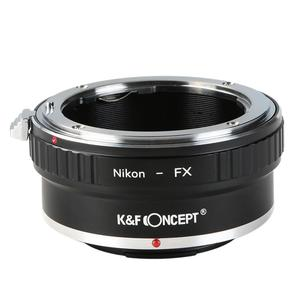 Image 3 - K&F CONCEPT Free Shipping Adapter Ring for Nikon Auto AI AIs AF Lens to Fujifilm Fuji FX Mount X Pro1 X E1 Camera