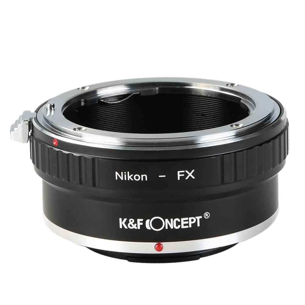 K & F CONCEPT จัดส่งฟรีแหวนอะแดปเตอร์สำหรับ Nikon Auto AI Ais AF เลนส์ Fujifilm FUJI FX MOUNT x-Pro1 X-E1 กล้อง
