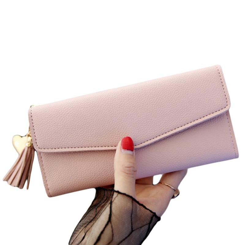 2020 New Design Wallets Women Brand PU Purses For Woman Wallet Long Hasp Female Purse Card Holder Clutch Feminina Carteira