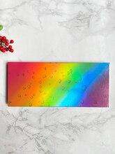 10 farben holographische farbverlauf glitter sparkle regenbogen lidschatten-palette private label niedrigen MOQ
