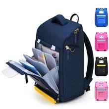 waterproof Children School Bags Girls Boys kids schoolbag Orthopedic Backpack School Backpack kids Mochila Infantil Zip