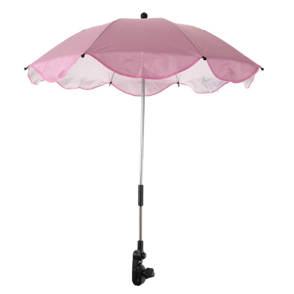 Summer Sunshade Umbrella UV Protection Beach Shelter Outdoor Lightweight Parasol With Sand Anchor For Coast