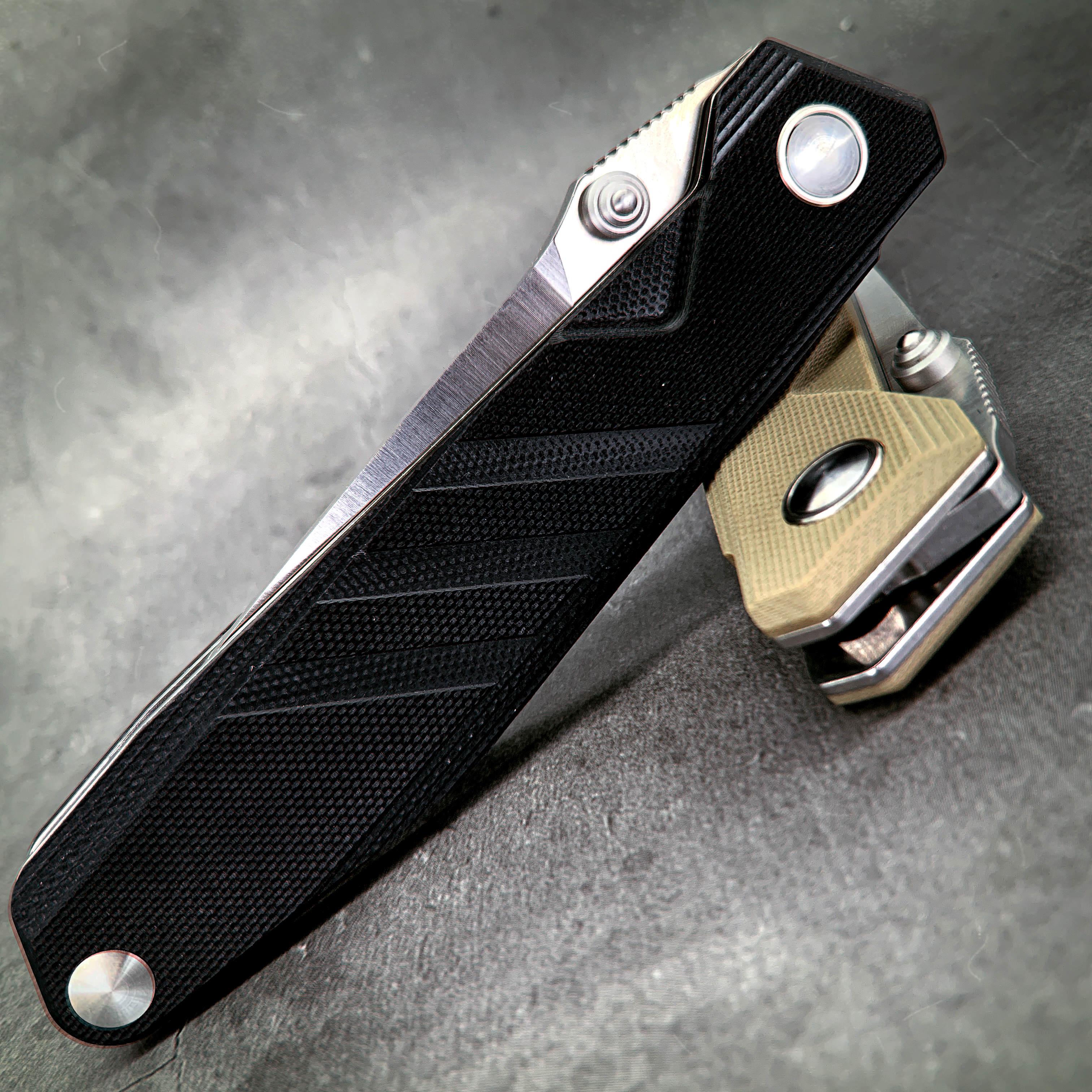 Tools : SANRENMU SRM 1158 Pocket Folding Blade Knife 8cr13 Steel Blade Edc Outdoor Camping Hunting Survival Fishing Tool