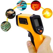 Termômetro gm320 sem contato temperatura display lcd-50 gun 380 graus handheld digital ir laser ponto arma para a indústria