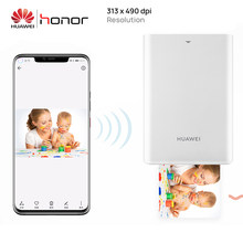 Stampante fotografica portatile originale Huawei Zink Honor Mini stampante Bluetooth Connect Mobile Android iOS Phone condivisione fai da te(China)